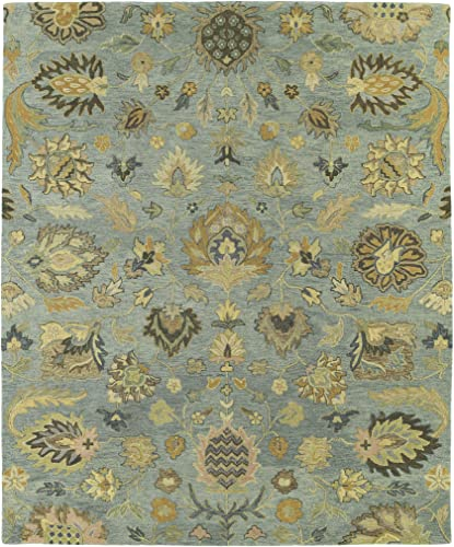 Kaleen Rugs Helena Collection 3203-56 Spa Hand Tufted 2 x 3 Rug