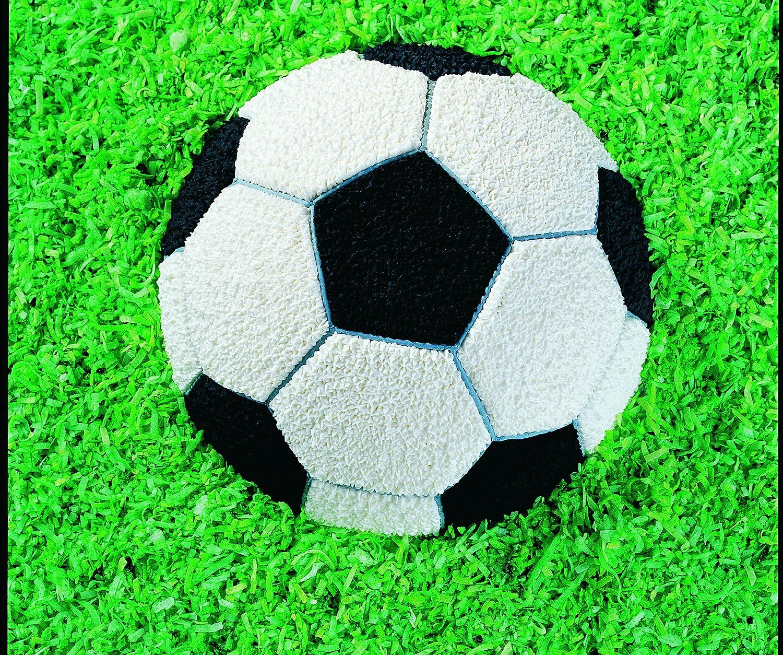 Wilton Molde para Hornear, diseño de balón de fútbol, As Shown, centimeters: Amazon.es: Hogar
