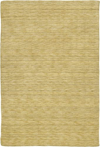 Kaleen Rugs Renaissance Collection 4500-07 Butterscotch Handmade 3 X 5 Rug