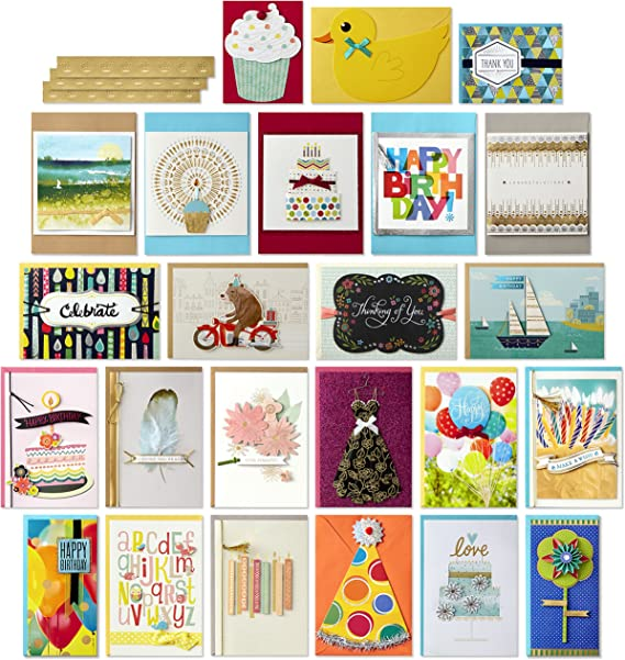Birthday Cards Hand Finished Stunning Colours Pack Of 4 Special Offer £7.59 *,*
