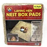 """Cackle Hatchery Laying Hen Nest Box Pads - 13"""" x 13"""" (6 Pack)"""