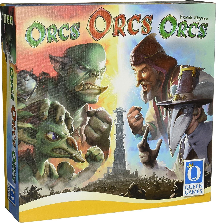 Orcs Orcs Orcs by Queen Games: Amazon.es: Juguetes y juegos