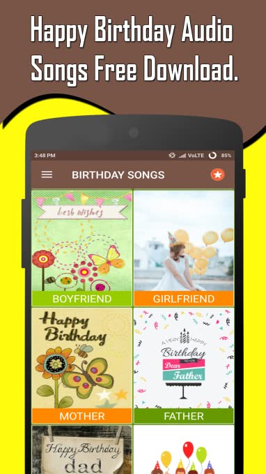 Amazon Happy Birthday Songs Offline Appstore For Android