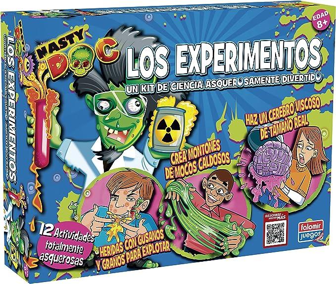 Falomir - Nasty Doc Los Experimentos TV, Juego Creativo (25029): Amazon.es: Juguetes y juegos