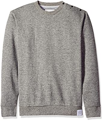 275471f1d98 Amazon.com  Quiksilver Men s Quikbond Crew Neck Sweater  Clothing