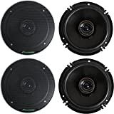 "Pioneer TS-G1645R 2-Way 6-1/2"" 500 Watt Car Audio Coaxial Speaker (2 Pairs) 6.5"""