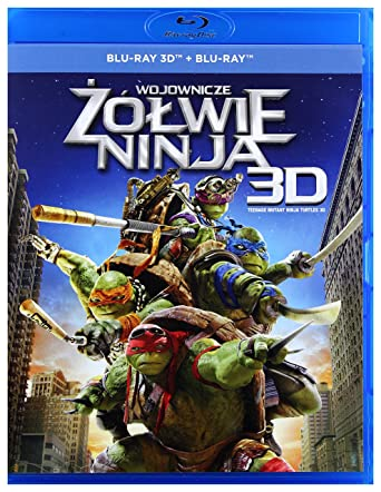 Amazon.com: Ninja Turtles [Blu-Ray]+[Blu-Ray 3D] (English ...