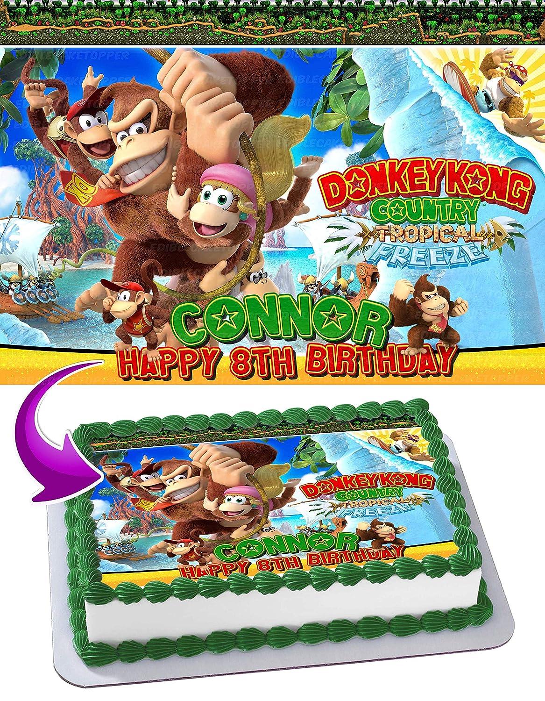 Pleasing Donkey Kong Birthday Card Greeting Cards Invitations Funny Birthday Cards Online Amentibdeldamsfinfo