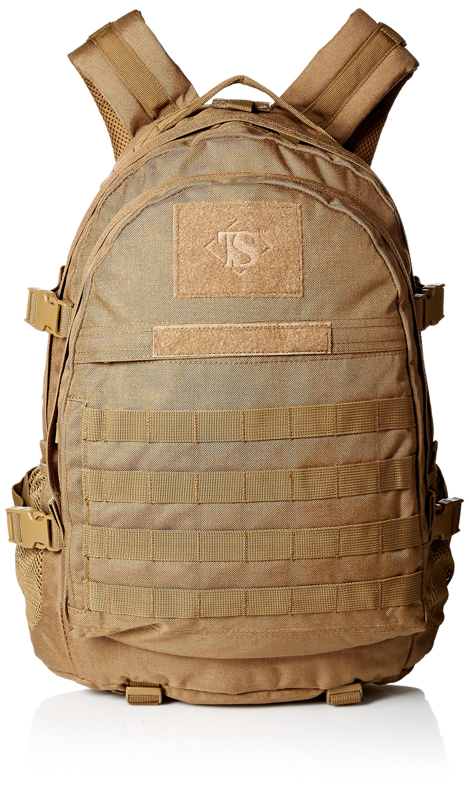TRU-SPEC Backpack, Coy Elite 3-day, Coyote, One Size