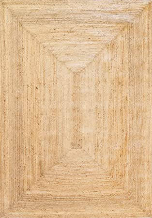 hamid tapis jute naturel alhambra tapis 100 fibre de jute naturel 230x160cm - Tapis Jute