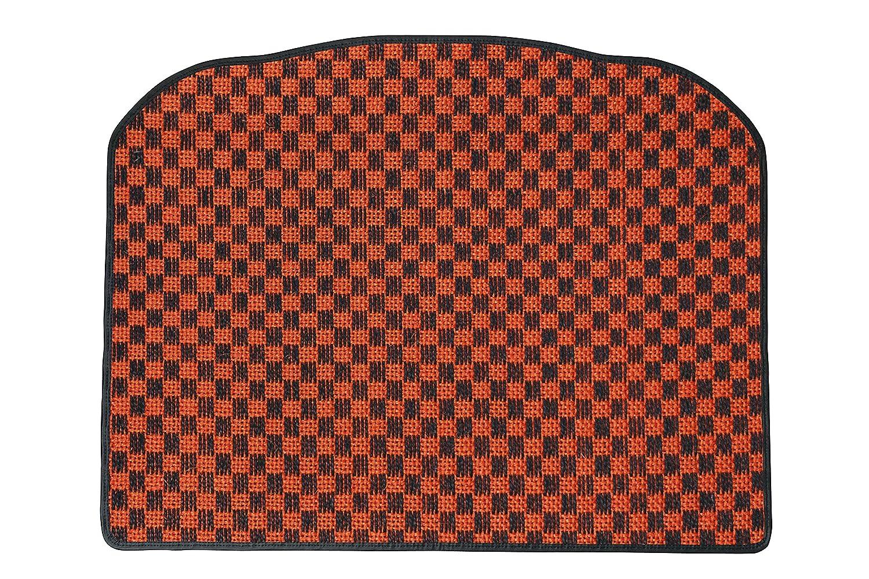 KARO(カロ) ラゲッジマット SISAL オレンジ/ブラック FIAT(フィアット) パンダ(リアゲートのみ) B00NUT8XCK SISAL×オレンジ/ブラック SISAL×オレンジ/ブラック
