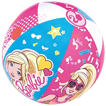 Pelota de Playa Hinchable Bestway Barbie: Amazon.es: Juguetes y juegos