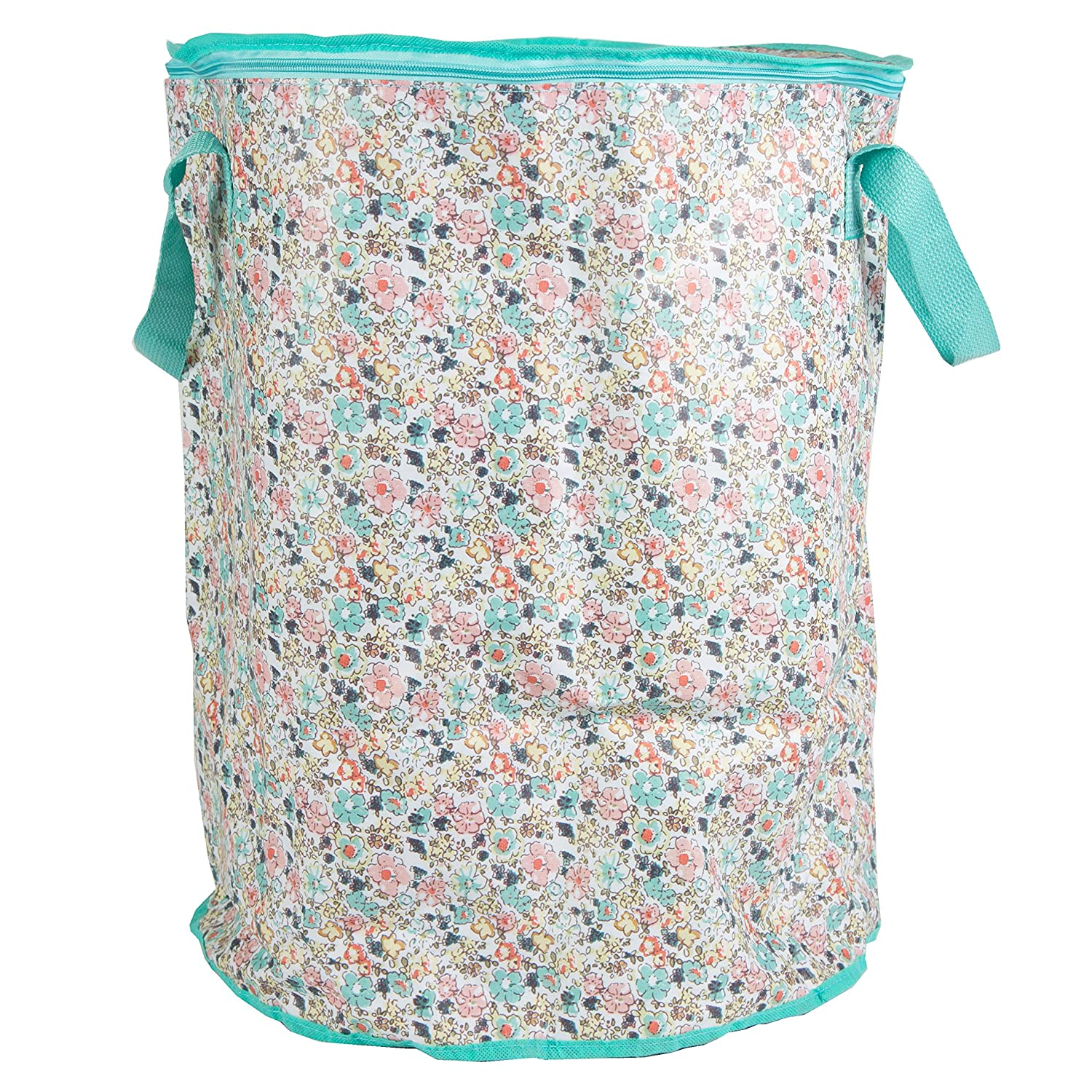 'Sass & Belle' Foldable Laundry Basket Flowers
