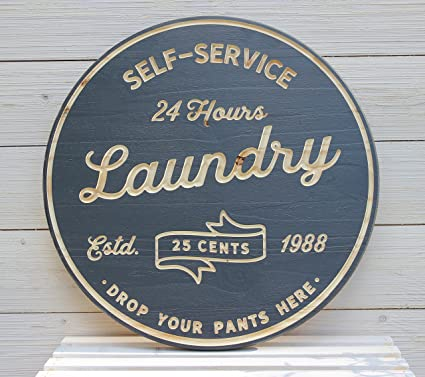 Artis Design Laundry Room Signs Custom Wood Farmhouse Rustic