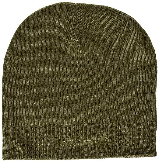 5ecc723b Timberland Men's Basic Beanie, Brown, One Size: Amazon.ca: Clothing &  Accessories