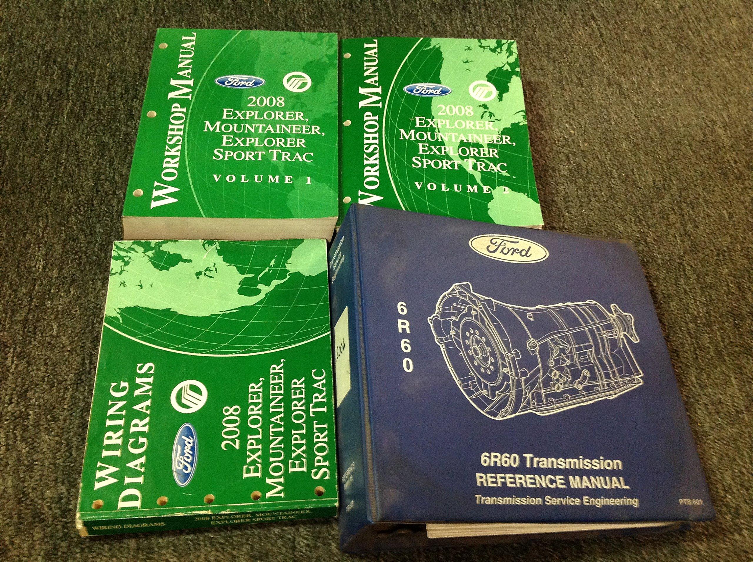 2008 ford explorer sport trac repair manual