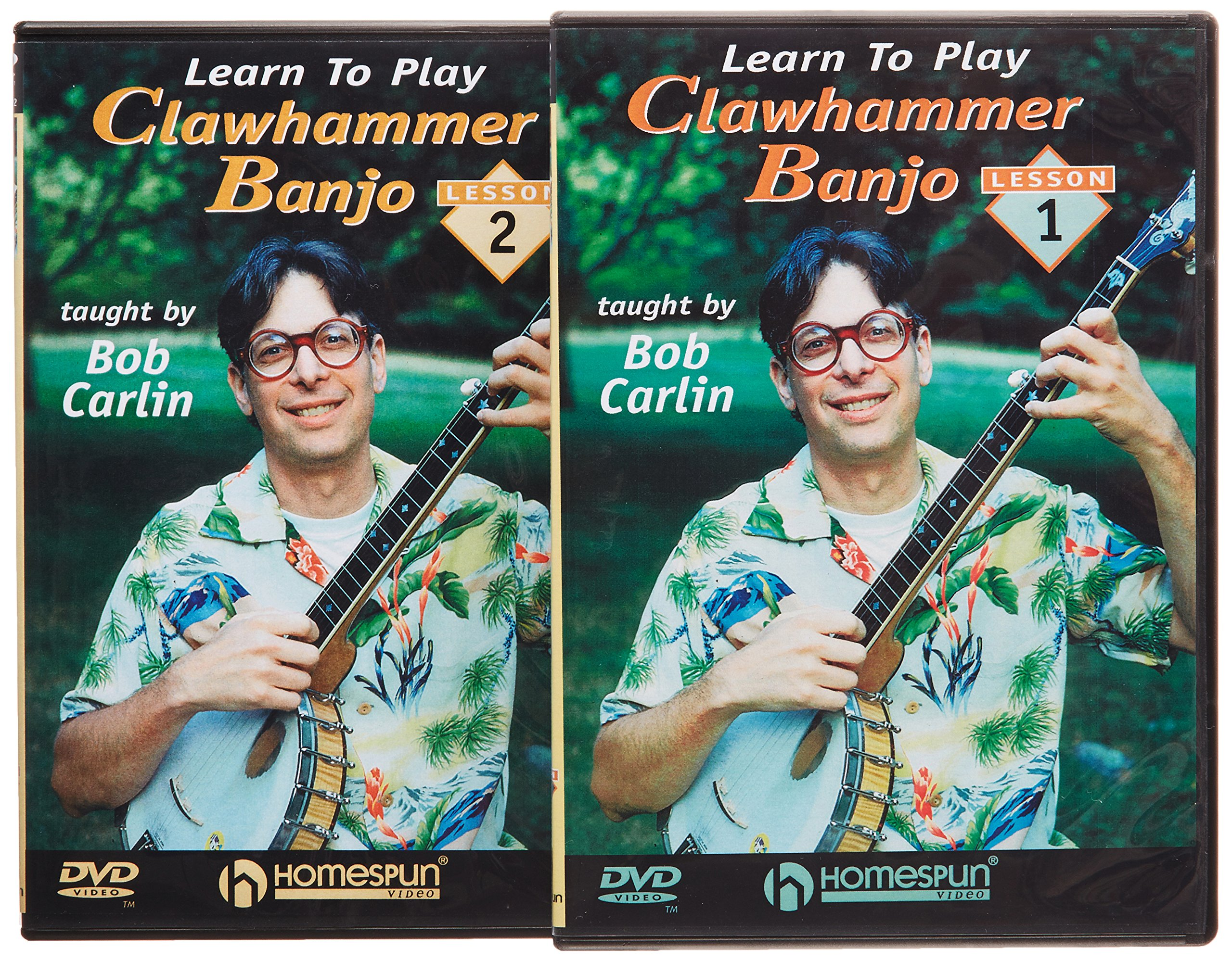 Bob Carlin - Learn To Play Clawhammer Banjo [2 Discs] [Instructional] (2PC)