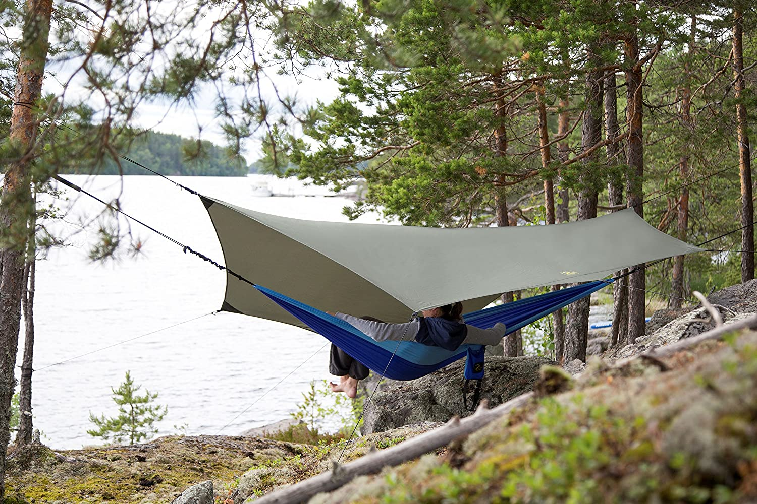 Polyester 190T 126x126 in//320x320 cm GOLDEN EAGLE SUMMER SALE Hammock Rain Sun Fly Tent Tarp PRO Waterproof Camping Shelter Easy Setup Other Lightweight