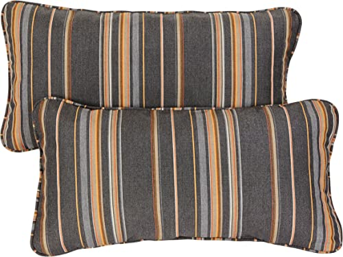 Mozaic AZPS2580 Indoor Outdoor Sunbrella Lumbar Pillow
