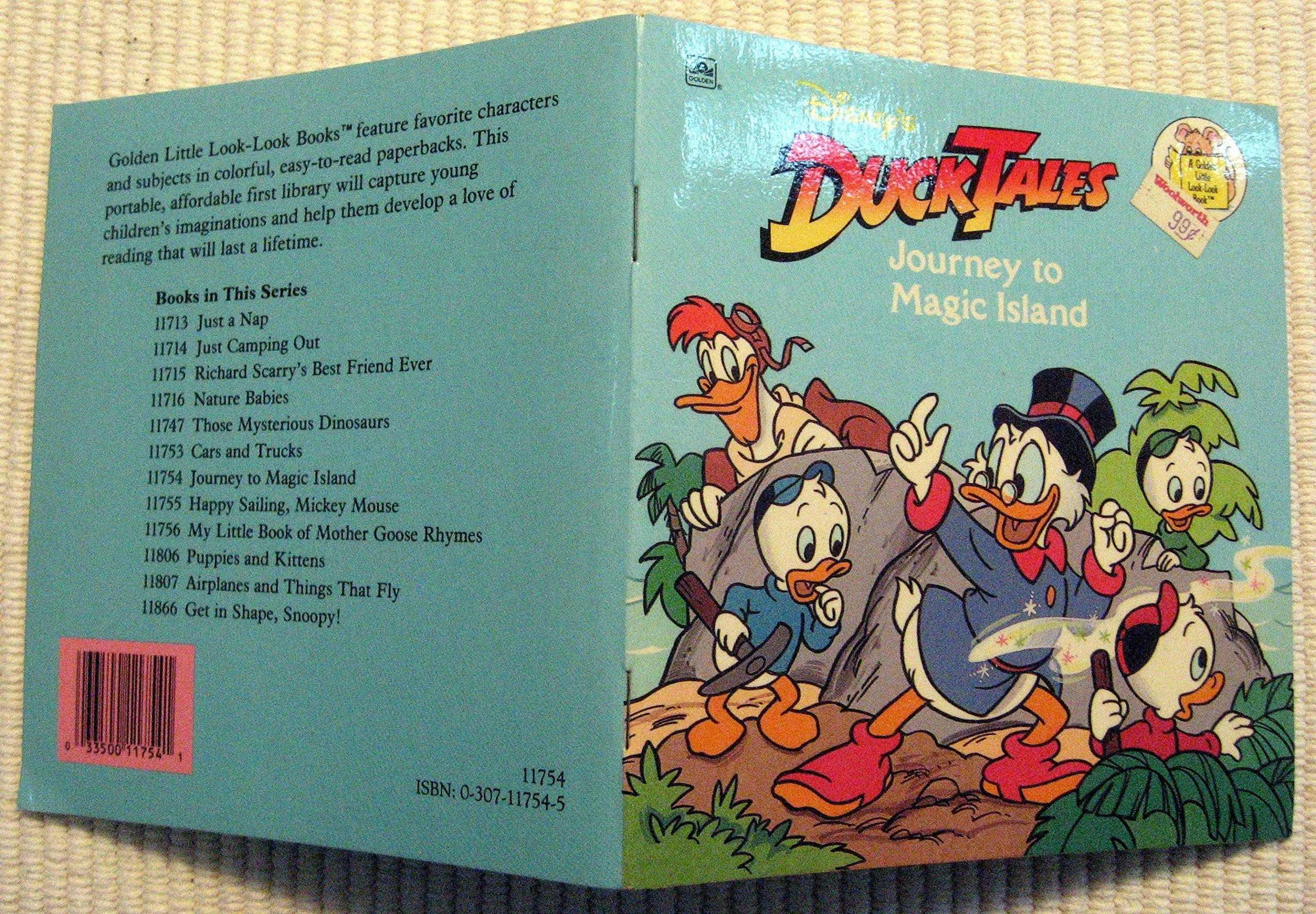Disney's Duck Tales: Journey to Magic Island (Golden Little Look-look Book):  Michael Teitelbaum: 9780307117540: Amazon.com: Books