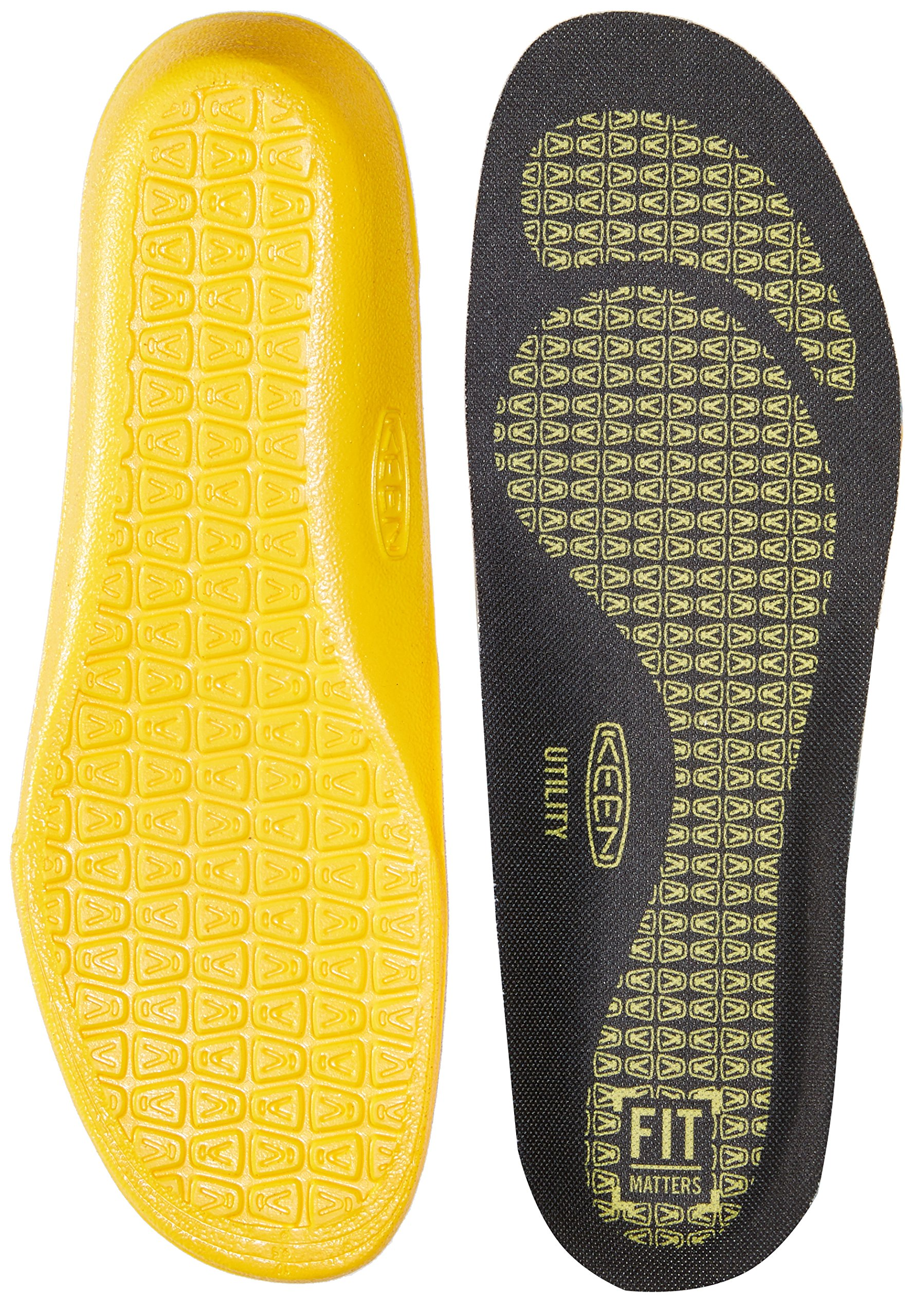 Keen Utility Utility K-20 Cushion Insole, Black, Large (11-12)