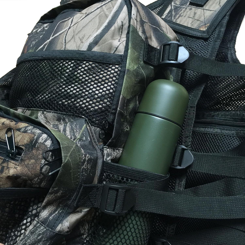 tama/ño Ajustable de hasta 50-55 Pulgadas de Cintura//Pecho CKSN Chaleco de detecci/ón de Metal Mochila Integral//m/últiples Bolsillos//Bolsas 7 Colores.