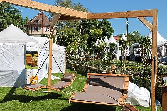 Doble de Techo Camilla querlattung de madera, para el jardín y ...