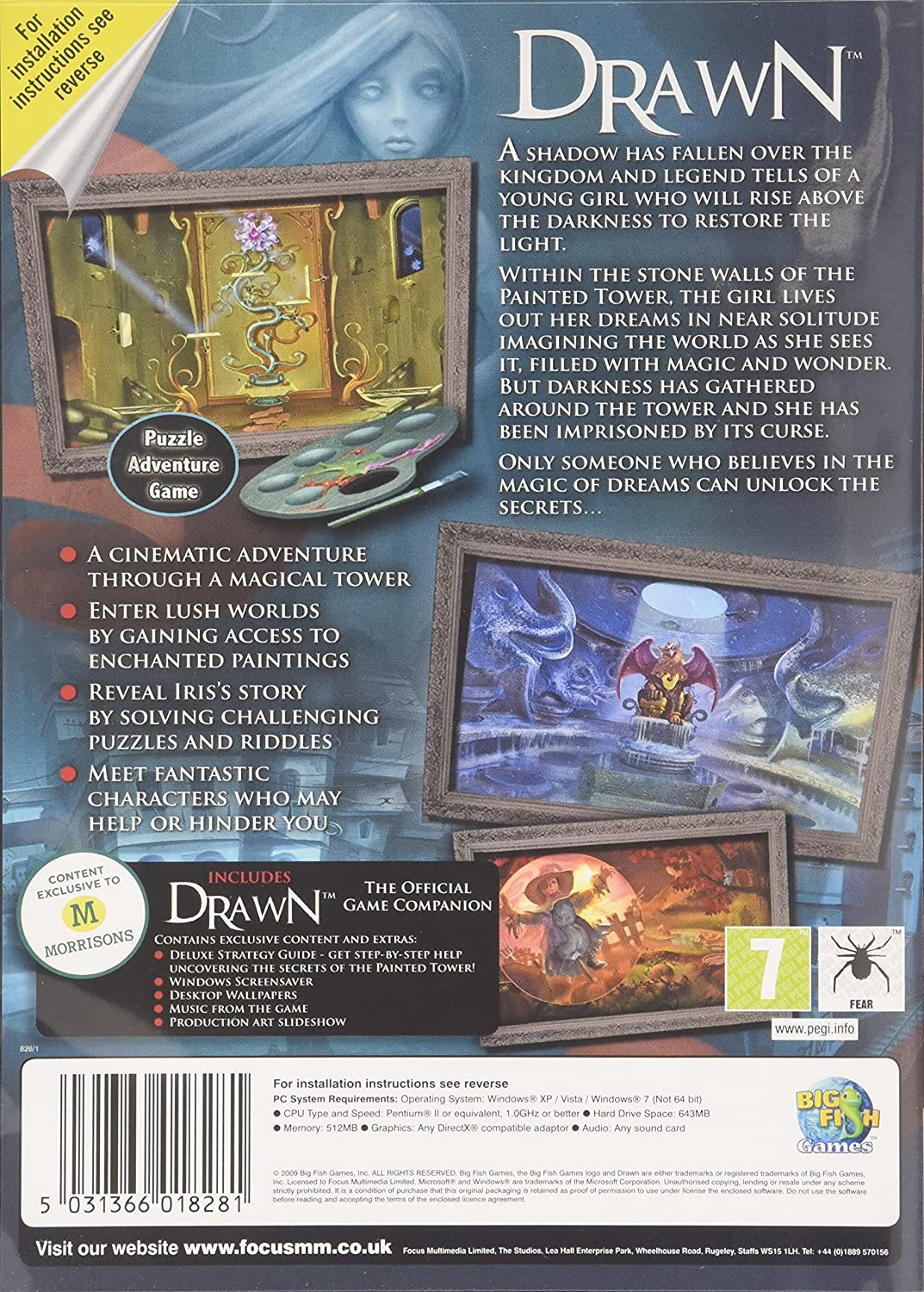 Amazon com: Drawn: The Painted Tower (PC CD): Video Games