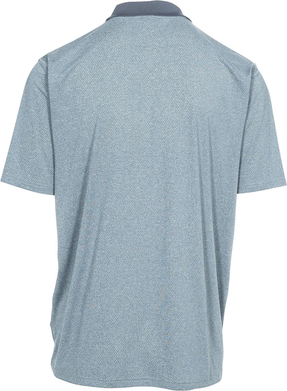 Trespass Mens Maraba Short Sleeves Quick Dry Antibacterial T-Shirt with Uv Protection