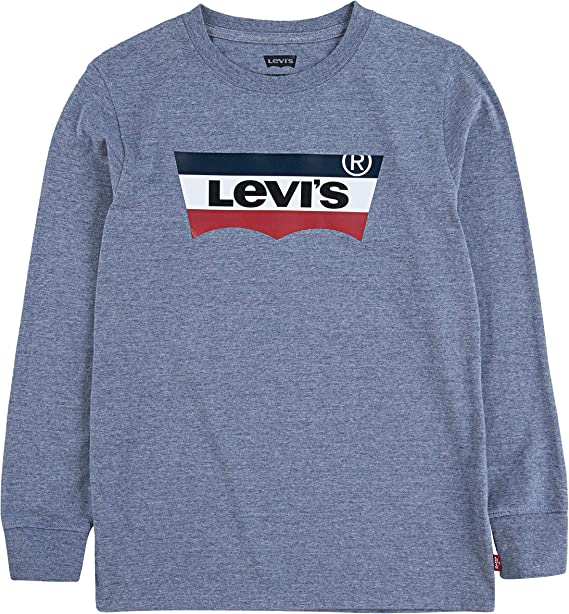 Levi's Boys' Long Sleeve Batwing T-Shirt