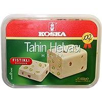 Koska Halva Pistachio, 400-Gram Boxes (Pack of 2)