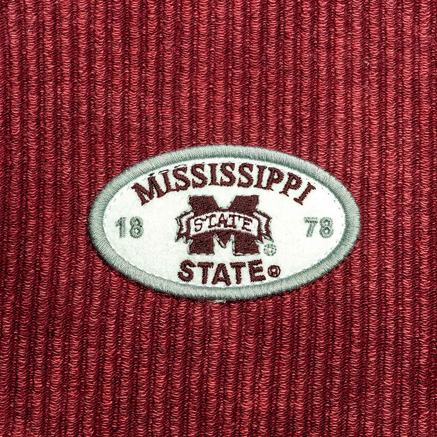 Small Maroon NCAA League Womens Mississippi State Bulldogs Timber Crop Crew