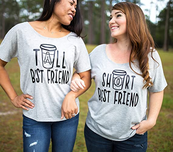 effef8b45 Best Friend Shirts - Best Friend Gift - Best Friends - Meilleur Ami Tshirt  - Coffee