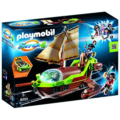 Playmobil 9000 Super 4 Floating Pirate Chameleon with Ruby: Toys & Games