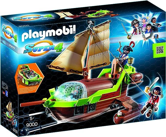 Playmobil-Pirata Camaleón con Ruby y un Barco Personajes de la ...