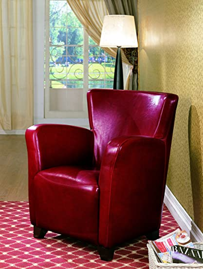 Cool Coaster Home Furnishings Accent Chair With High Back Red Ibusinesslaw Wood Chair Design Ideas Ibusinesslaworg