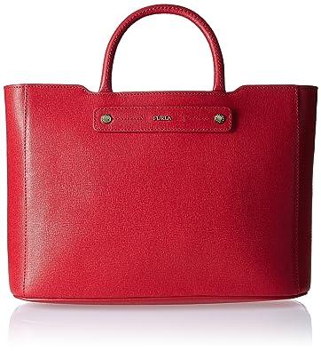 FURLA - Cartera para mujer rojo RS1-ROSSO: Amazon.es: Zapatos y complementos