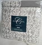 Charisma Microfiber 6 Piece Sheet Set King - (Nobel Beginning Grey)