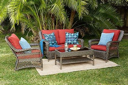Amazon.com: Quality Outdoor Living 65-5151271 Sonoma - Juego ...