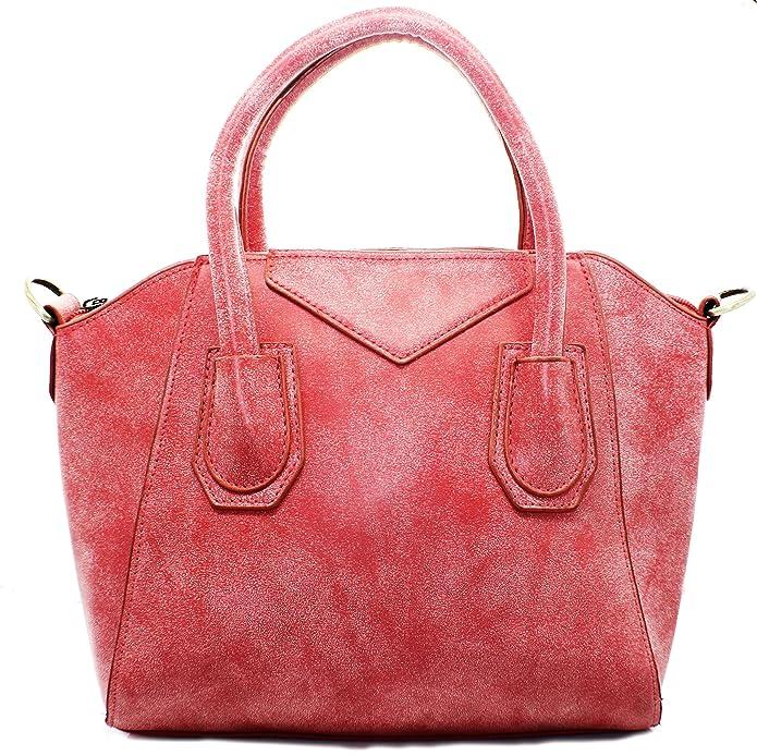 Womens Vincenza Designer Fashion Stripe Single Shoulder Canvas Bag Tote Handbag