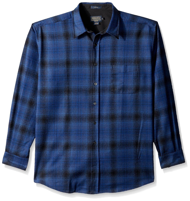 Pendleton SHIRT メンズ B01N6Y09Z0 XL Blue/Black Ombre-31951 Blue/Black Ombre-31951 XL