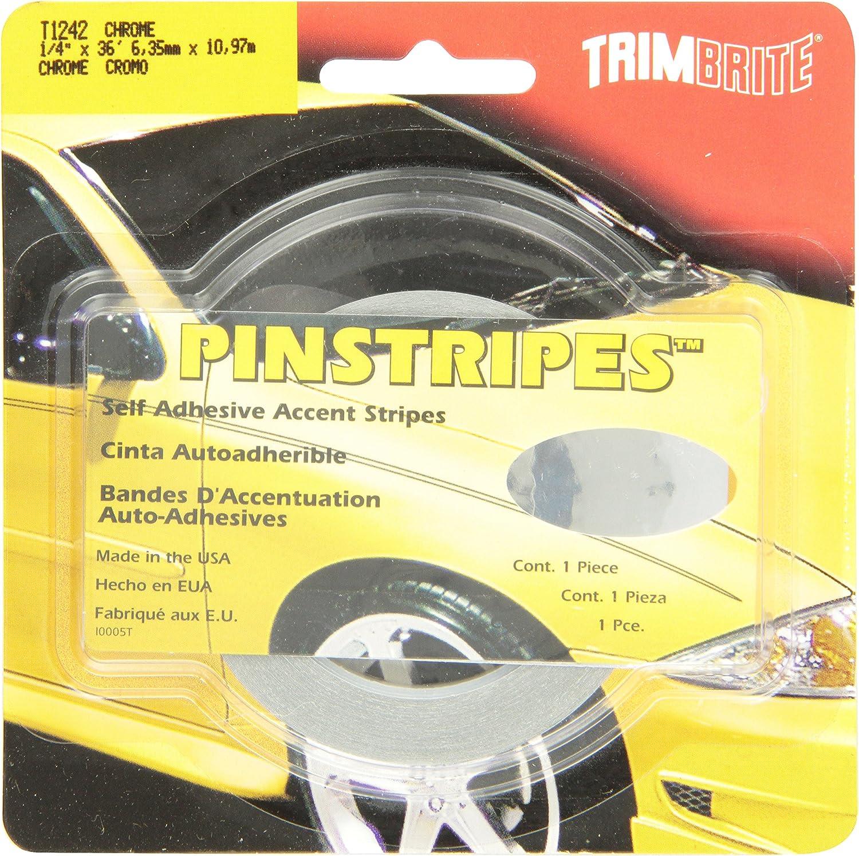 Trimbrite T1242 Trim Stripe 1//4 Chrome