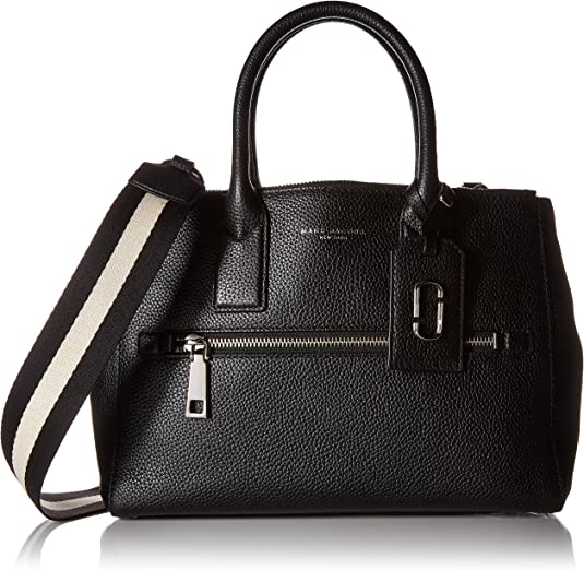Sac à main Marc Jacobs Gotham City New Tote en cuir noir