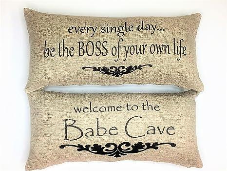 Amazon.com: Babe cave-boss motivacional Mensaje de regalo ...