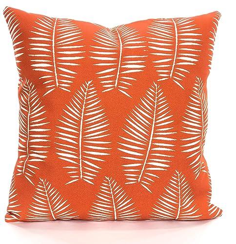 Amazon Com Outdoor Orange Pillow Covers Throw Pillows Cushions