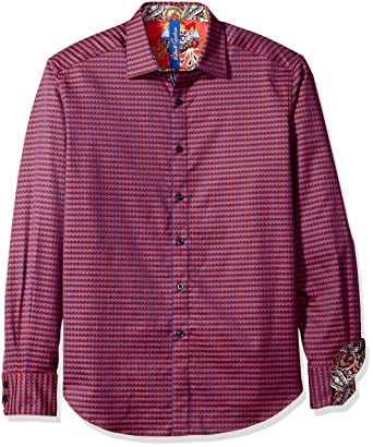 612e49d49d7 Amazon.com  Robert Graham Men s Dogwood Classic Fit Sport Shirt ...