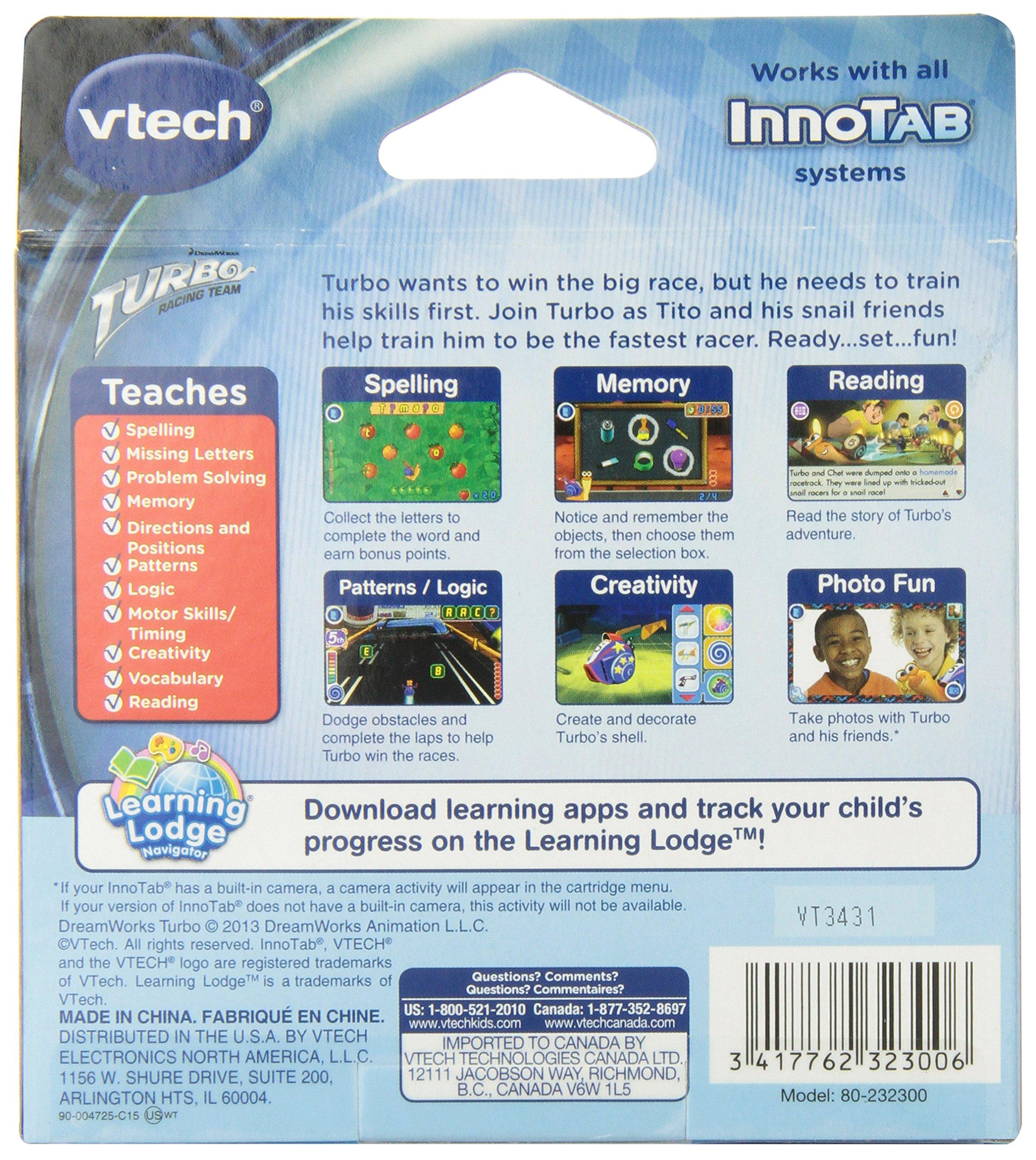 VTech InnoTab Software -  Turbo by VTech (Image #2)
