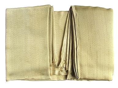Tonyko® Manta de soldadura de fibra de vidrio gruesa y manta de fuego, 39 × 39 pulgadas, 2 libras: Amazon.es: Bricolaje y herramientas