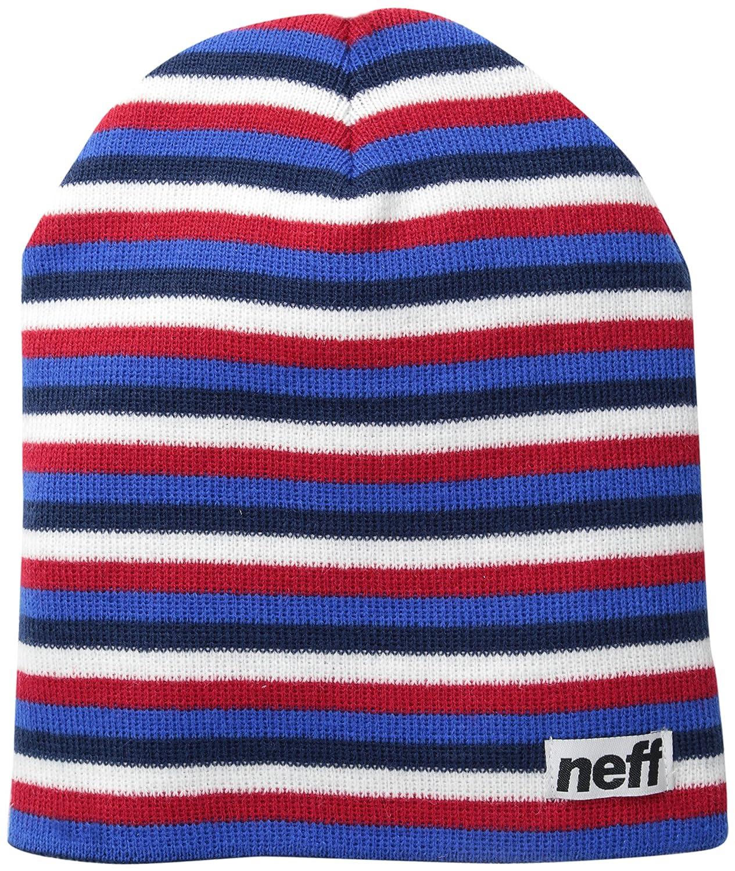 Neff Men 's Duoストライプビーニー One Size American B00I5RWE4A