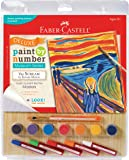 Faber-Castell Young Artists Deluxe Paint By Number Mixed Media Kit - Munch: The Scream